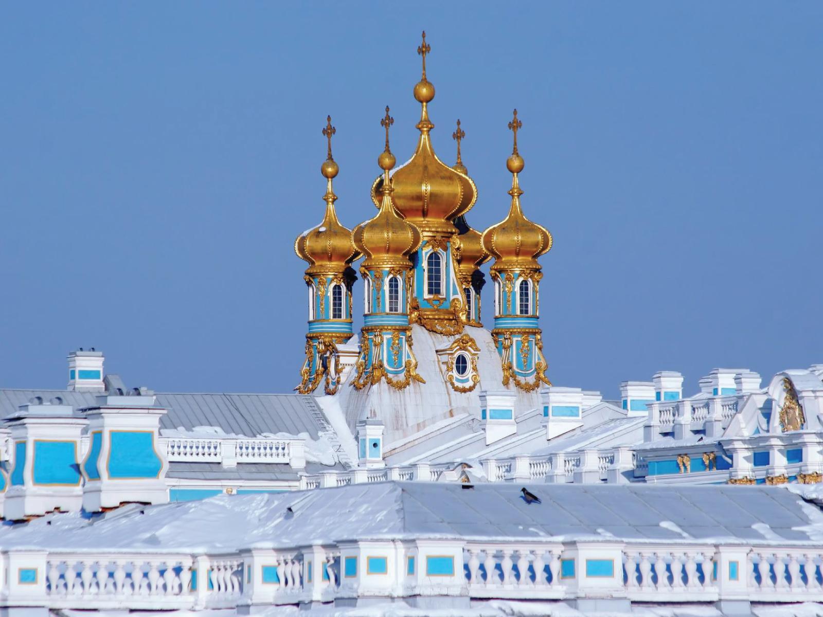 Russland - Ekaterinenpalast