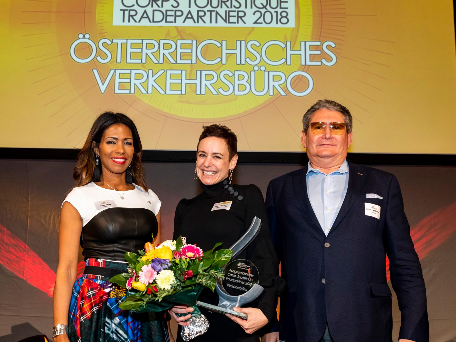 Ausgezeichneter Tradepartner 2018: Verkehrsbüro